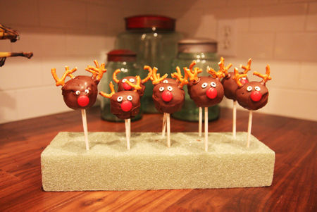 Reindeer line up