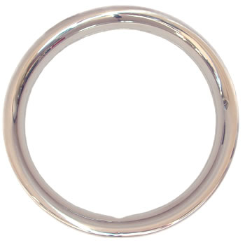 Stainless steel trim rings