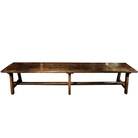 Amy perlin walnut convent table