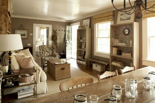 Haskells living room via style court