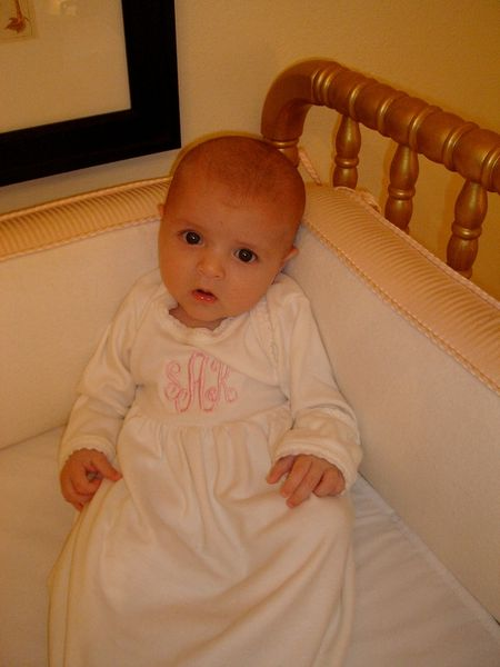 Sophies gold crib'