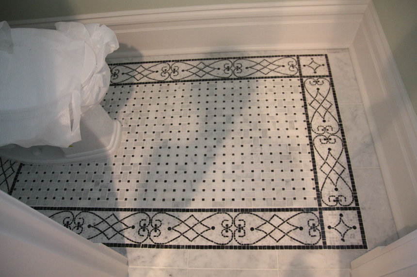 Patterns shower floor and fall in love with on pinterest for Fall in shower floor
